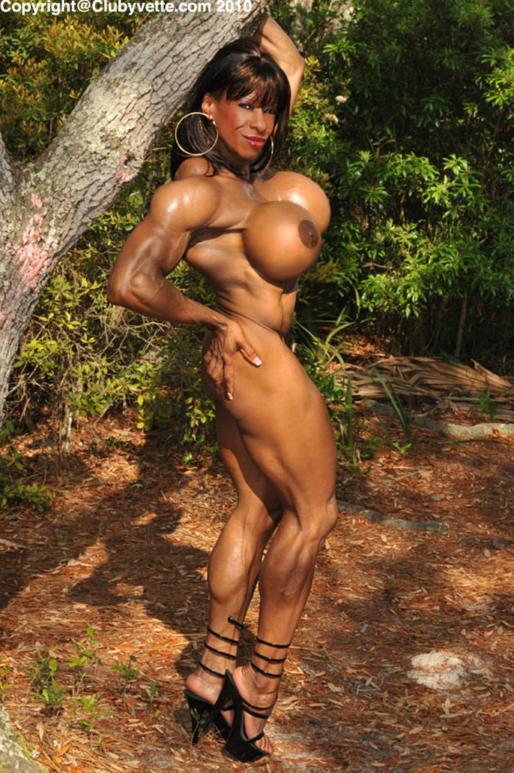 Sexy naked women bodybuilders