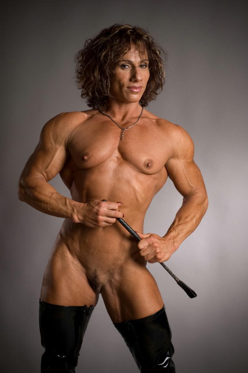 Nude Female Bodybuilder Muscle Girls