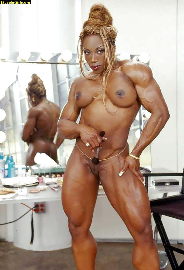 Huge muscle naked girl opinion